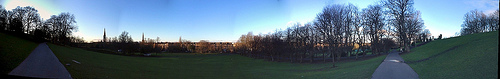 PANORAMA OF QUEENS PARK